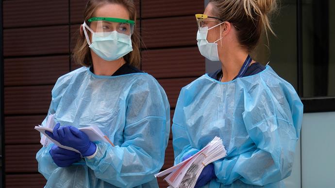 Face masks coronavirus.