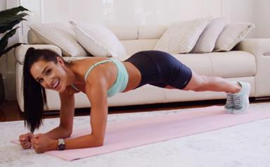 ELLE Exclusive: Kayla Itsines Shares A 14-Minute At-Home Workout That'll Tone Your Whole Body