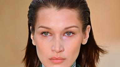 Bella Hadid Cut Herself A 2000s Style Fringe And We're Feeling It