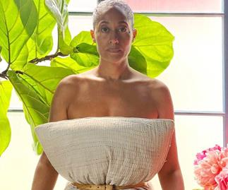 Tracee Ellis Ross Pillow Challenge