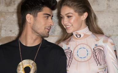 Zayn Malik Makes A Rare Appearance On Gigi Hadid's Instagram For Her Birthday