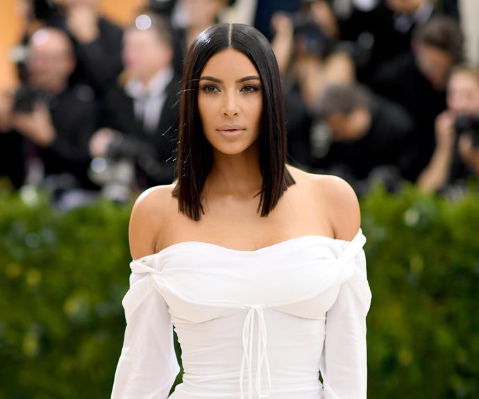 Kim Kardashian West Met Gala 2017.