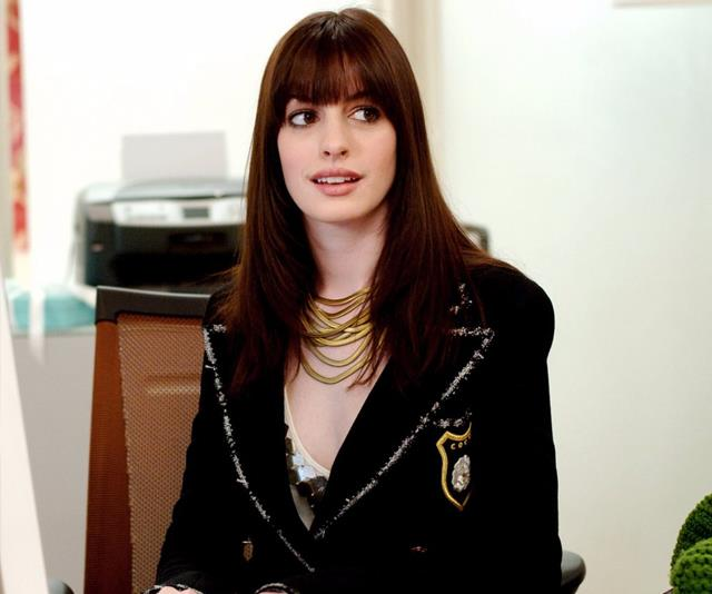 Anne Hathaway In Devil Wears Prada