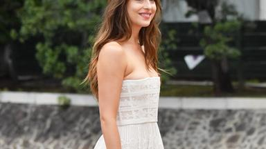 Dakota Johnson Just Wore The White Floaty Dress Of Our Dreams (And It's By An Australian Designer)