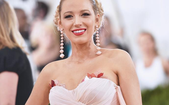 Blake Lively Secretly Matched Her Met Gala Dress To The Carpet Every Year