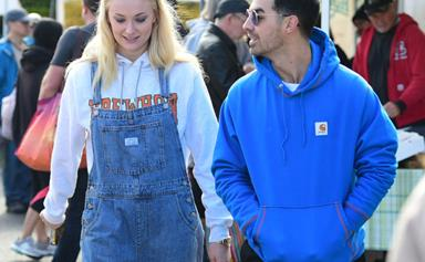 Fans Think Sophie Turner Debuted Her 'Baby Bump' On A Quarantine Walk With Joe Jonas