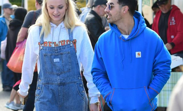Sophie Turner and Joe Jonas.