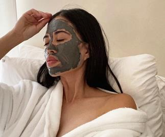 Face mask acne or 'maskne' is a thing.