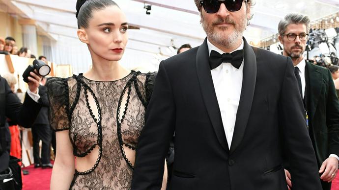 Rooney Mara and Joaquin Phoenix.