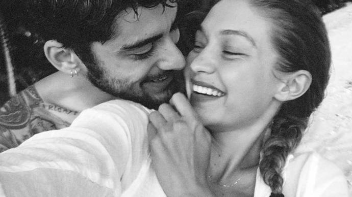Gigi Hadid and Zayn Malik.