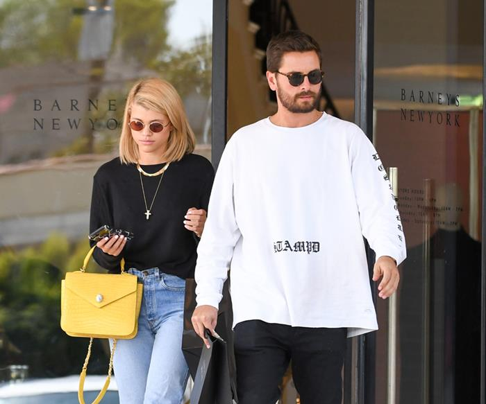 Scott Disick and Sofia Richie.