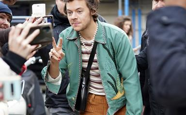 Harry Styles Joined A Los Angeles Black Lives Matter Protest