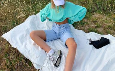 Vintage '90s Sportswear Is Back And Instagram's It-Girls Can't Get Enough