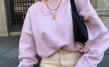 Sweats And Fine Jewellery Is The Queen Of All Isolation Fashion Combos