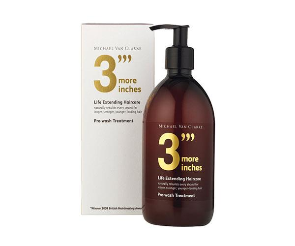 "**Opening Act** <br><br> Once you experience the effects of this protein-rich pre-shampoo treatment (think protection against damage, frizz management and lasting smoothness), you'll see it's anything but a gimmick. <br><br> 3 More Inches Pre Wash Treatment, $54, at [MECCA](https://www.mecca.com.au/3more-inches/pre-wash-treatment-500ml/I-020175.html?cgpath=brands-3more#start=1|target=""_blank"")."