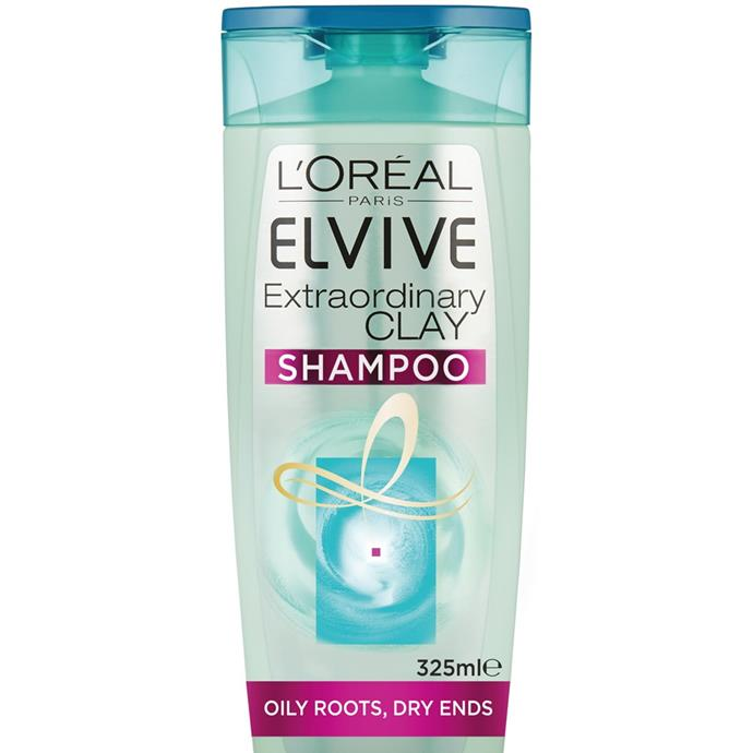 """**L'Oréal Paris Elvive Extraordinary Clay Rebalancing Shampoo, $7.99 from [Priceline](https://www.priceline.com.au/l-oreal-paris-elvive-extraordinary-clay-shampoo-325-ml