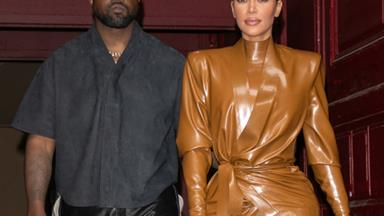 "Kim Kardashian Is Reportedly ""Worried"" And Super Stressed Over Kanye West's Behaviour"
