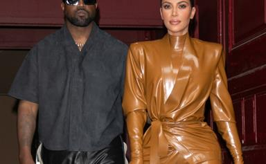"""Kim Kardashian Is Reportedly """"Worried"""" And Super Stressed Over Kanye West's Behaviour"""