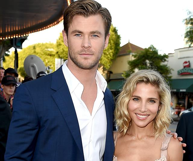 Chris Hemsworth and Elsa Patsky