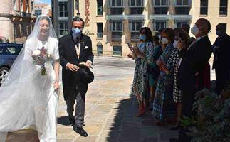 This Very Chic Spanish Royal Wedding Is Peak Wedding Dress Goals
