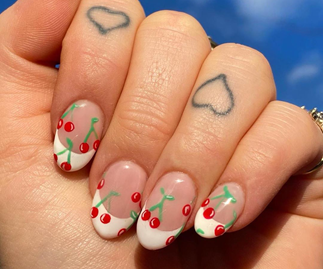 It's Time You Topped Your French Manicure With Fruit