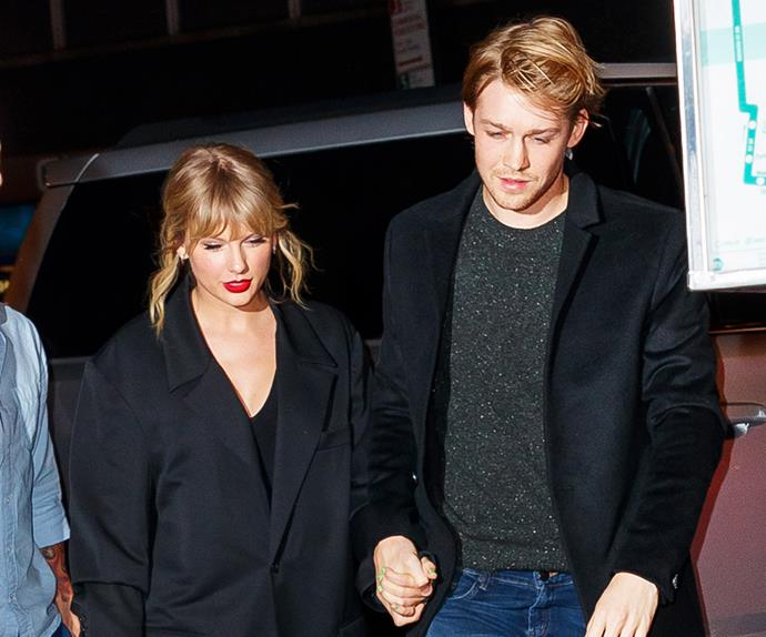 Taylor Swift and Joe Alwyn.