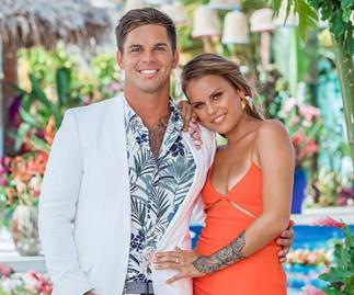 Bachelor In Paradise's Matt and Renee.