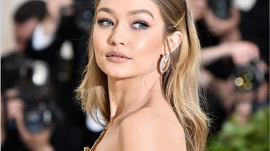 Gigi Hadid Shows Off Bare Baby Bump In Stunning Pregnancy Shoot