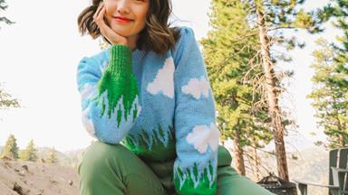 'Landscape Knits' Is The Trend Perfect For Cottagecore Lovers Looking To Level Up This Spring