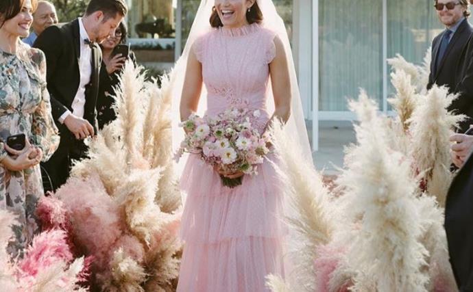 Mandy Moore wedding