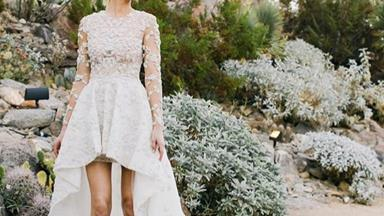 13 Celebrities Who Wore Short Dresses To Their Wedding
