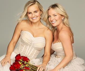 Elly and Becky Miles from 'The Bachelorette' Australia 2020.