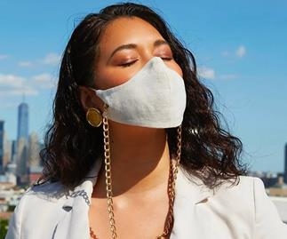12 Face Mask Chains To Keep You Both Safe And Chic