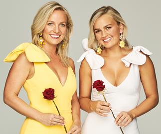 'The Bachelorette' Australia's Elly and Becky Miles.