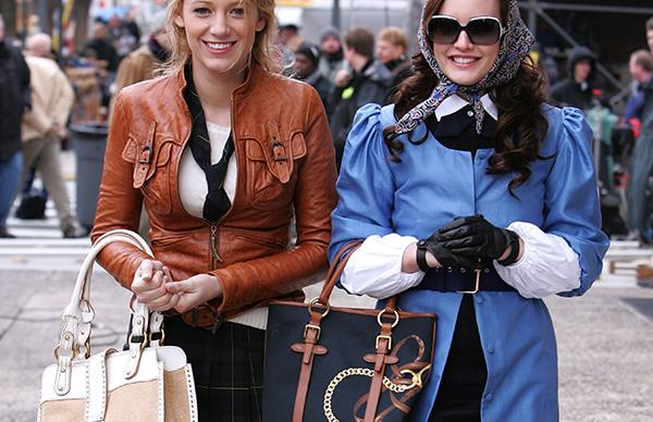 Blake Lively in Gossip Girl.