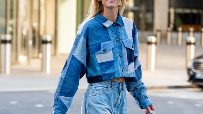 Patchwork Denim Is The Retro Trend Making A Long-Awaited Comeback This Season