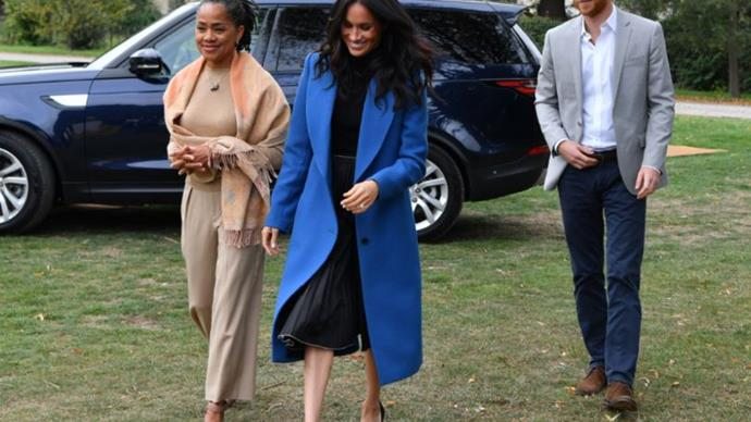 Inside Meghan Markle And Prince Harry's 'Quiet' First Thanksgiving In California With Her Mum Doria