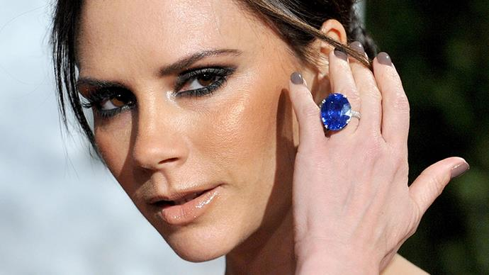 Victoria Beckham engagement rings.