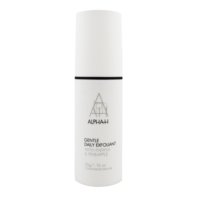 "Promising to turn skin ""satin soft,"" Alpha H's exfoliation formula calls in Kaolin clay, papaya extract and pineapple extract. <br><br> Gentle Daily Exfoliant by Alpha H, $62 at [Sephora](https://www.sephora.com.au/products/alpha-h-gentle-daily-exfoliant/v/gentle-daily-exfoliant