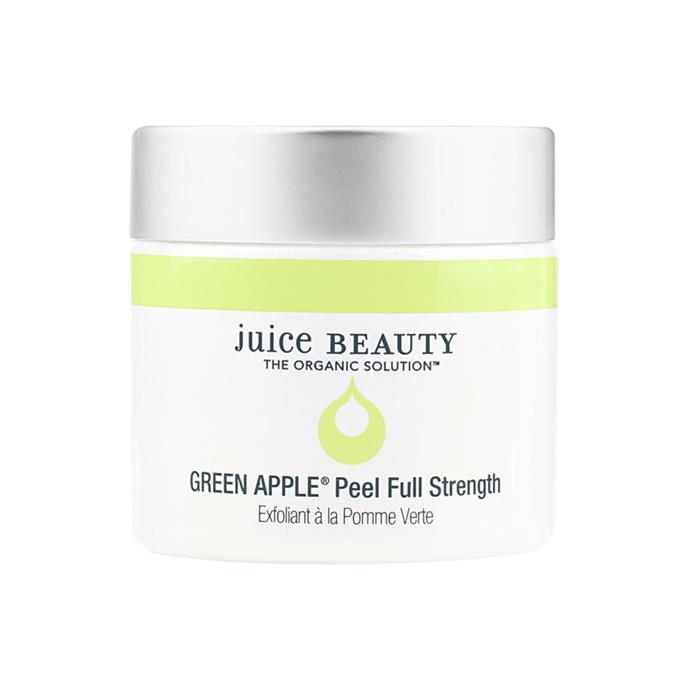 "On top of your usual exfoliating routine, add in this high-strength exfoliation mask once or twice a week to really up the glow.<br><br> Green Apple Peel Exfoliating Mask by Juice Beauty, $73 at [MECCA](https://www.mecca.com.au/juice-beauty/green-apple-peel-exfoliating-mask/I-035442.html#q=exfoliating&start=1|target=""_blank""