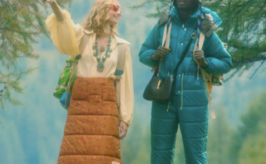 The North Face X Gucci Collaboration Explores The Great Outdoors