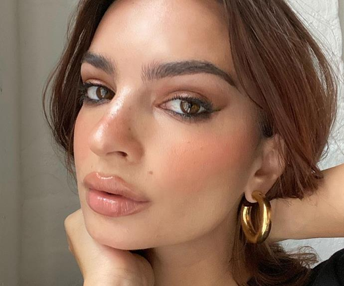 Emily Ratajkowski reponds to the rumours she's had lip injections while pregnant.