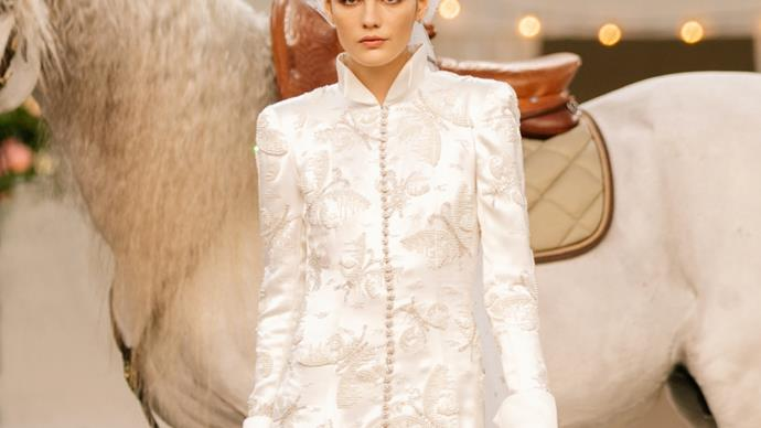 Chanel spring-summer 2021 haute couture.