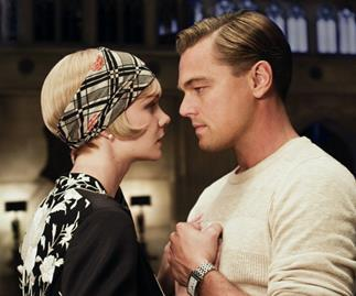 The Great Gatsby with Leonardo DiCaprio and Carey Mulligan