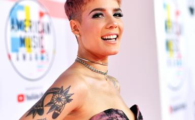 Halsey Announces Her Pregnancy With The Most Dreamy At-Home Photo Shoot