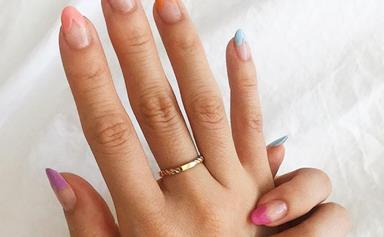 The 'Heart-Tipped' French Manicure Is The Loved-Up Nail Trend Making Hearts Skip A Beat