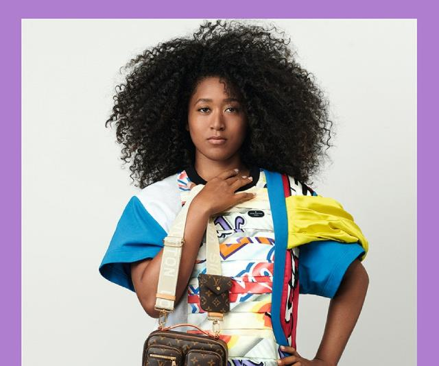 Naomi Osaka in the Louis Vuitton spring/summer 2021 campaign.