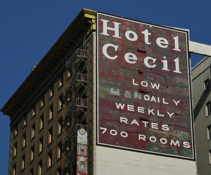 The Cecil Hotel in Los Angeles.