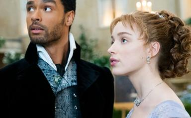 Bridgerton's Phoebe Dynevor Says An IRL Relationship With Regé-Jean Page Would've Been 'Complicated'