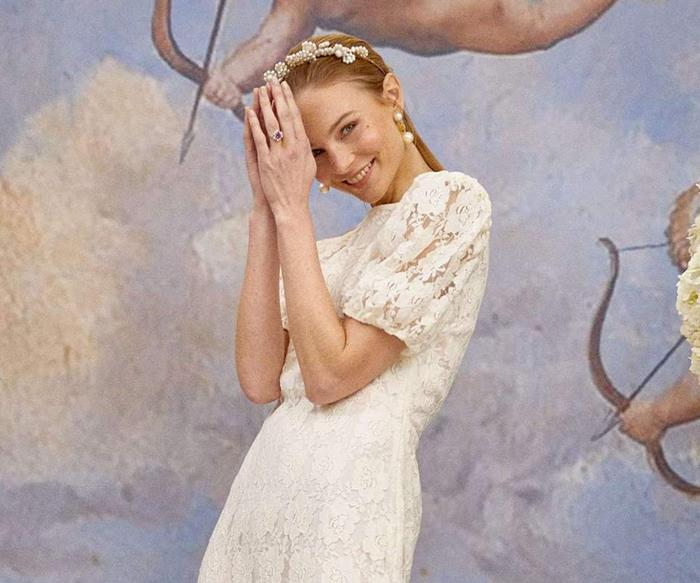 Rixo's New Bridal Collection Was Inspired By Zoë Kravitz And 'The Parent Trap'